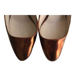 Chloé-Heels-Metallic