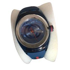 Gucci-montre gucci neuf-Bleu