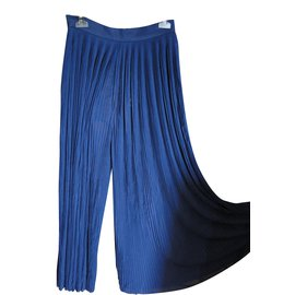 Chanel-jupe-culotte-Bleu,Bleu Marine