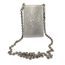 Kenzo-Bijoux de portable-Argenté