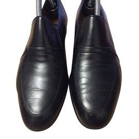 A. Testoni-Boots-Black