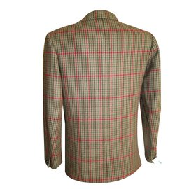 Hermès-Jackets-Brown,Red,Green