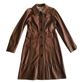 Max Mara-Manteaux-Marron