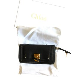 Chloé-Chloe Wallet-Black