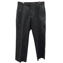 Burberry-Pantalons garçon-Noir