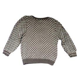 Bonpoint-pull en laine-Gris