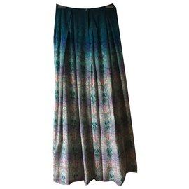 ... Autre Marque-tanvikedia Jupe longue motifs floraux-Multicolore 8a945fba32a4