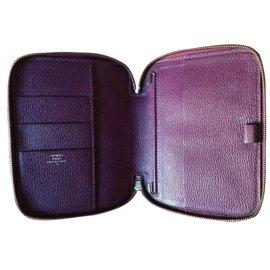 Hermès-Agenda  cover-Purple