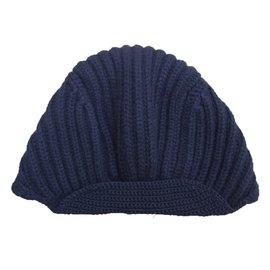 Chanel-Bonnet-Bleu Marine