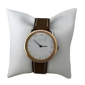 Hermès-Arceau MM-Blanc