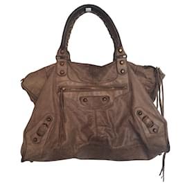 Balenciaga-Handbags-Taupe