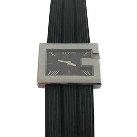 Gucci-Montres-Noir,Gris anthracite