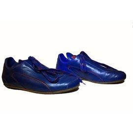 Louis Vuitton-Sneakers Femme Louis Vuitton série limitée-Bleu