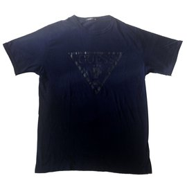 Guess-Tees-Navy blue