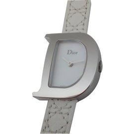 Dior-MONTRE D DE DIOR-Blanc