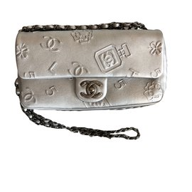 Chanel-Timeless-Silvery