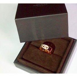 Hermès-Bague H d'ancre or et diamants-Autre