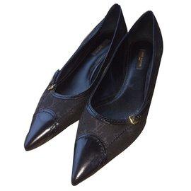 Louis Vuitton-Ballerines Louis Vuitton-Noir