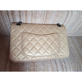 Chanel-2.55 Reissue 226-Golden