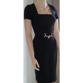 Gucci-robe mi-longue Gucci-Noir