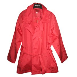 Kenzo-Girl Coats outerwear-Red