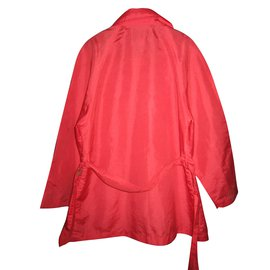 Kenzo-Mädchen Mäntel Oberbekleidung-Rot