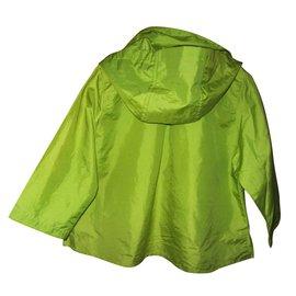 Kenzo-Girl Coats outerwear-Green
