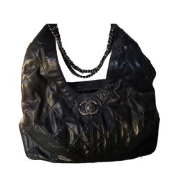 Chanel-Coco hobo soupple-Noir ... 38b4b7cf61
