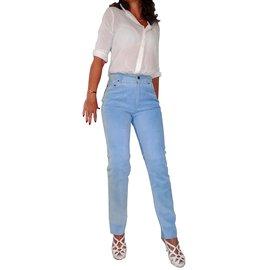 Hermès-Pants, leggings-Blue