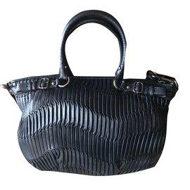 Coach-Handbags-Blue