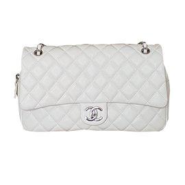 Chanel-Chanel Medium Flap Bag-Blanc ... c28ffc10d6