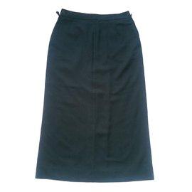 Hermès-Skirts-Grey