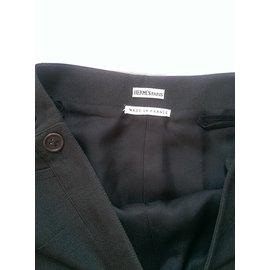 Hermès-Jupes-Gris