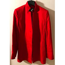 Akris-Jackets-Red