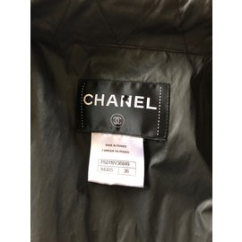 Chanel-Trench coats-Black