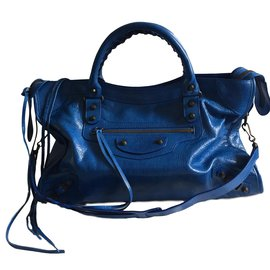 Balenciaga-City classic-Bleu
