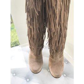 Casadei-Boots-Beige