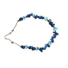 Autre Marque-Colliers-Bleu,Doré,Bleu Marine