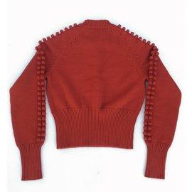 Chloé-Knitwear-Coral