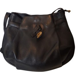 Delvaux-Handbags-Black