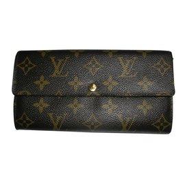 Louis Vuitton-COMPAGNON TOLIE MONOGRAM.-Marron foncé
