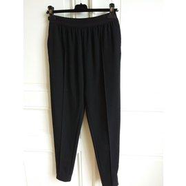 Céline-Pants, leggings-Black
