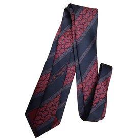 Valentino-Cravate soie Valentino-Multicolore