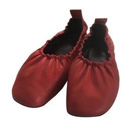 Céline-Ballet flats-Red