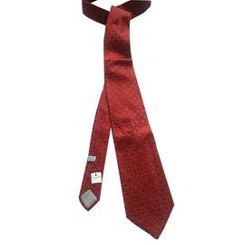 Christian Dior-Cravates-Rouge