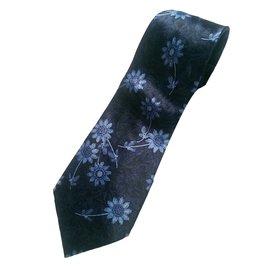 Lanvin-Cravates-Bleu
