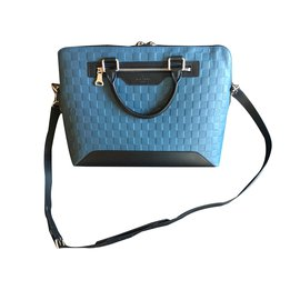 Louis Vuitton-Avenue busienss bag-Bleu