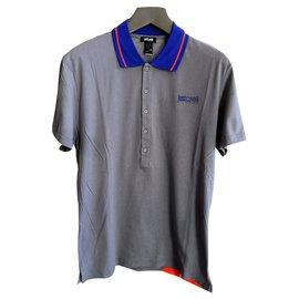 Just Cavalli-Just cavalli brand new men's gray polo shirt-Multiple colors