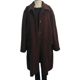 Marina Rinaldi-Coats, Outerwear-Dark brown