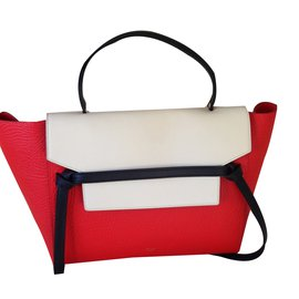 Céline-Mini belt-Rouge